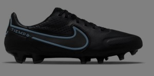 Nike-Tiempo-Legend-9-Pro-Gras-Voetbalschoenen-FG-Zwart-Blauw