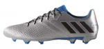 adidas MESSI 16.3 FG Silver Metallic Core Black