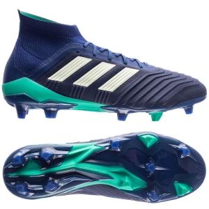 adidas Predator 18.1 FG AG Deadly Strike - Blauw Groen Donkerblauw