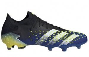 adidas-Predator-Freak.1-Low-Gras-Voetbalschoenen-FG-Zwart-Wit-Geel-E-220