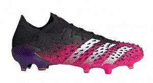adidas-Predator-Freak.1-Low-Gras-Voetbalschoenen-FG-Zwart-Wit-Roze