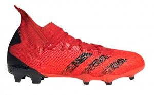 adidas-Predator-Freak.3-Gras-Voetbalschoenen-FG-Rood-Zwart-Rood