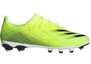 adidas-X-Ghosted.3-Gras-Kunstgras-Voetbalschoenen-MG-Geel-Zwart-Blauw-E-80